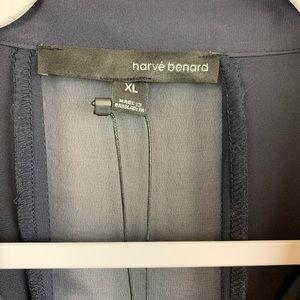 Harve Benard Tops - Harve Benard NWT sheer long sleeve top size XL